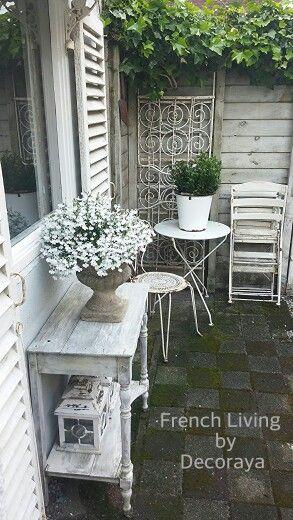 In My Garden Decoraya Shabby Chic Patio Shabby Chic Garden Shabby Chic Bedrooms