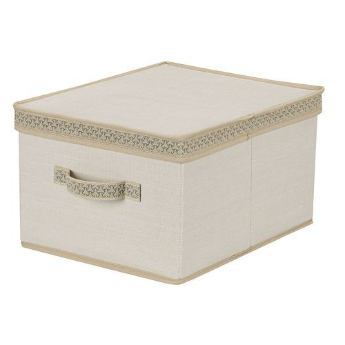 Decorative Lidded Storage Boxes Household Essentials Large Lidded Storage Box  For The Home