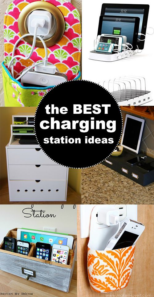 Make Your Own Diy Charging Station Charging Station Diy Diy