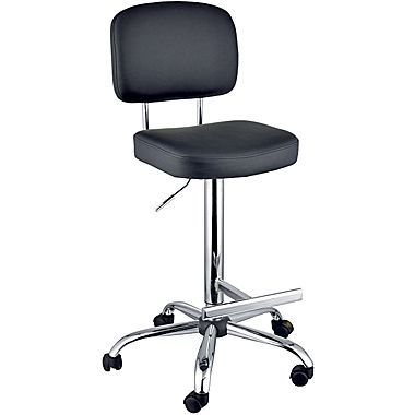 marco chelsea tall office chair, black   home: closet office