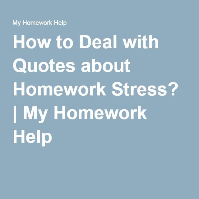 Chinese homework help your memory