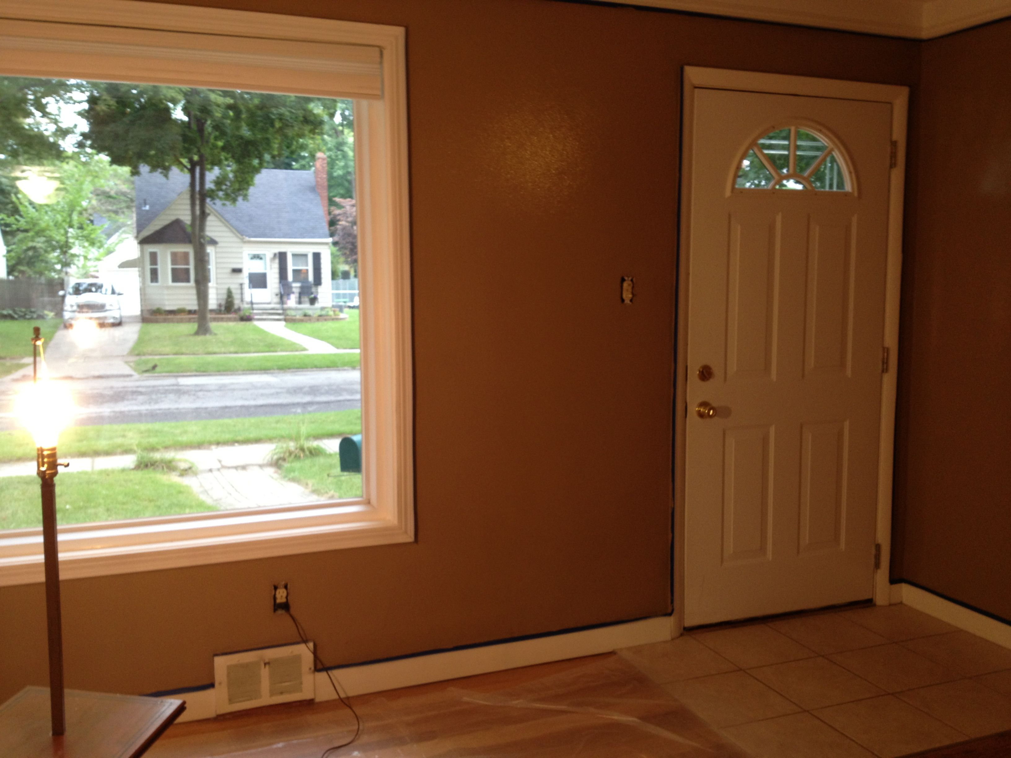 New living room color. Behr Toffee Crunch. | Room colors, Living room  color, New living room