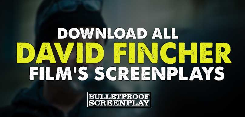 david fincher film s screenplay collection download david fincher