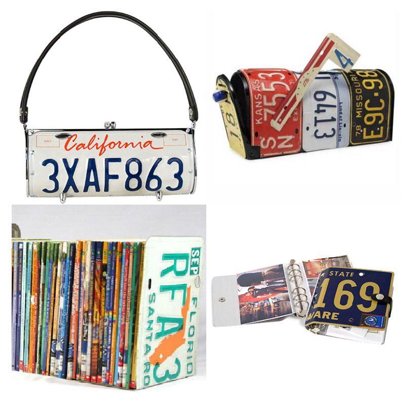 Recicla una matrícula de coche | Upcycling | Pinterest | Placas, Las ...