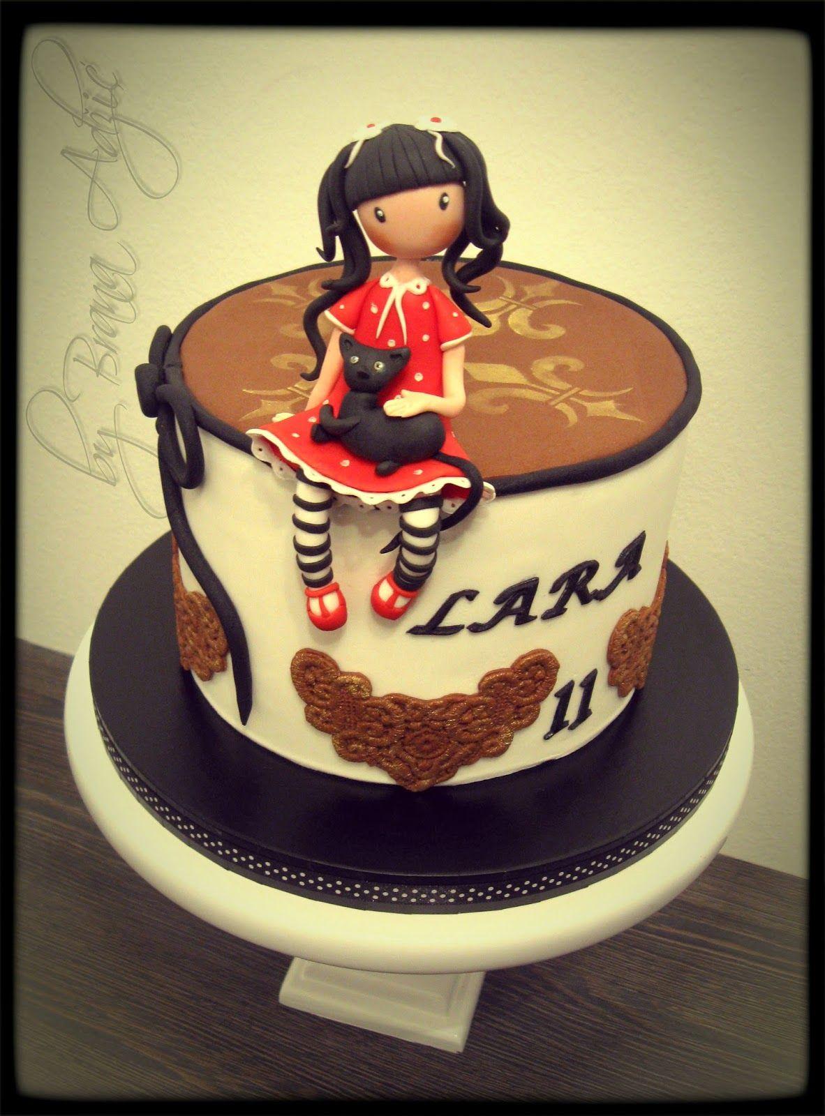Birthday Cakes For Girls Za ~ Arobni u itak torte by brana ad i novi sad ro endanske za devoj ice birthday cakes