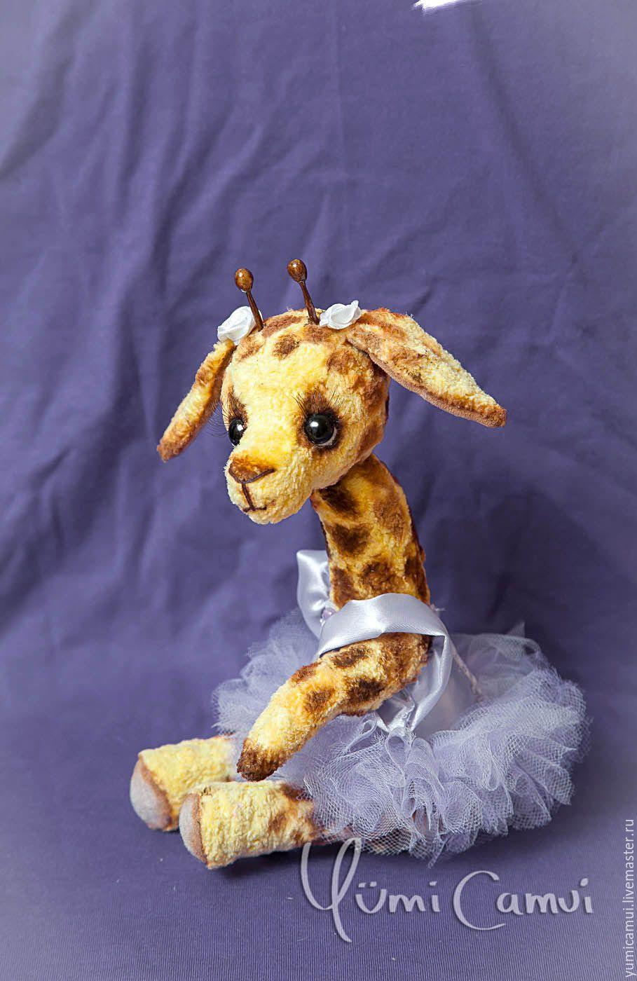 Купить Тедди Жираф Мая. - коричневый, тедди, тедди мишка, мишка тедди, мишка, жираф