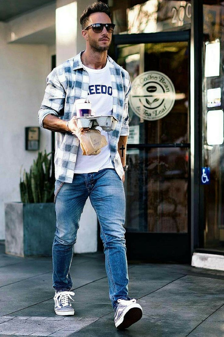 Flannel shirt men outfit   Coolest Summer Outfit Formulas For Stylish Guys  Menus fashion
