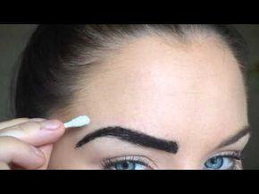 Dye Your Eyebrows | Eyebrows, Dye eyebrows, Brow hair color