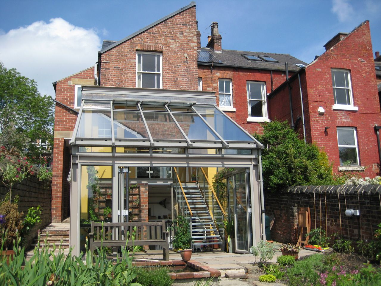 Conservatories concept windows and conservatories essex - Double Height Minimalist Contemporary Conservatory Google Search