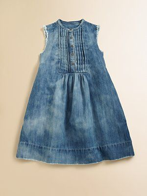 e70d84608a Ralph Lauren Toddler s   Little Girl s Denim Shirt Dress