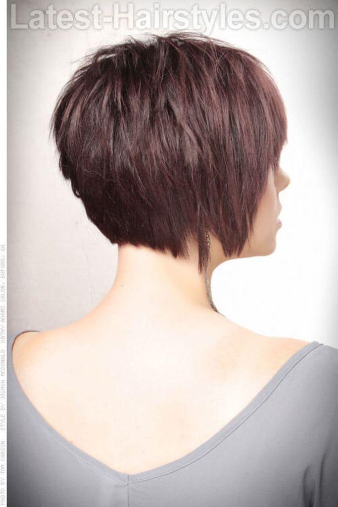 Cool Back View Undercut Pixie Haircut Hairstyle Ideas 14 Pinterest