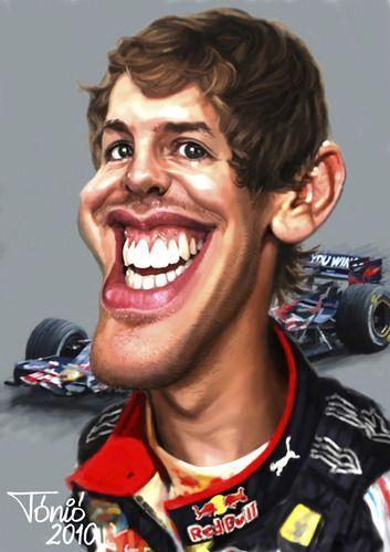 Fear The Sebastian Vettel Fan Funny Celebrity T Shirt