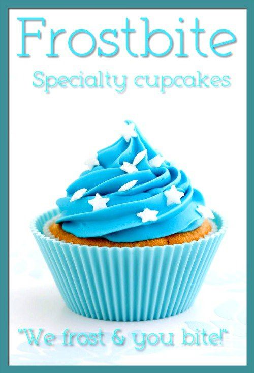 The Logo For My Bakery Business With Images Blue Cupcakes