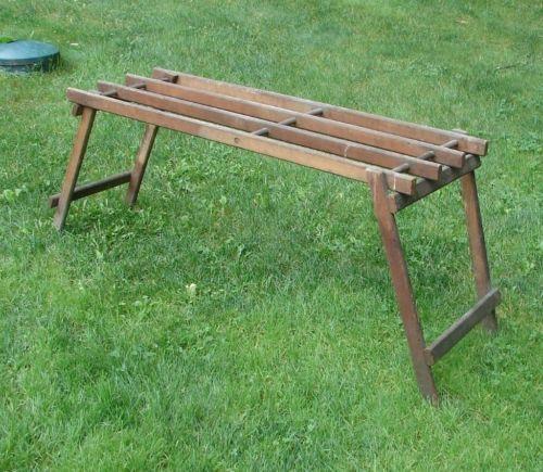Antique Primitive Wooden Folding Wash Tub Stand How To Antique Wood Wood Tub Wash Tubs