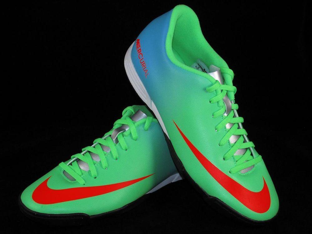 nike versatile des de chaussures de foot de des vortex tf gazon vert bleu 1e8332