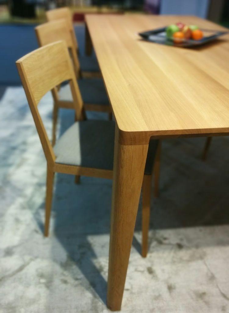 9c41eea2a92e Javorina - jedalensky stol z masívneho dreva - Nábytok z masívu ...