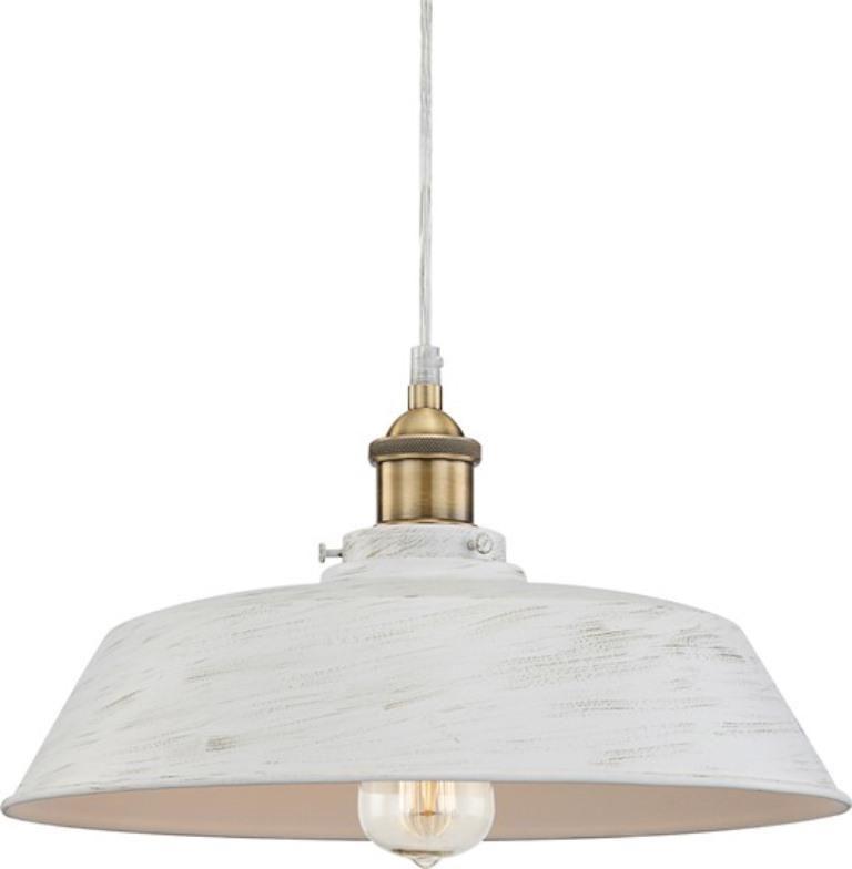 Pendul modern diametru 36cm, H-124cm Knud alb/negru 15068 Globo Lighting - - Universul luminii   Corpuri de iluminat, lustre