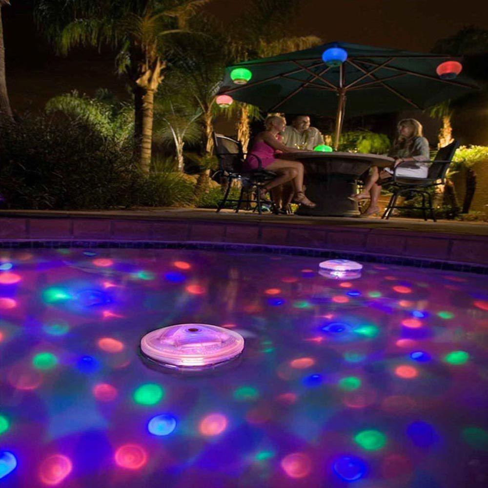 Floating Underwater Rgb Led Disco Light Glow Show Swimming Pool Hot Tub Spa Lamp Swimming Pool Lights Swimming Pool Hot Tub Led Pool Lighting