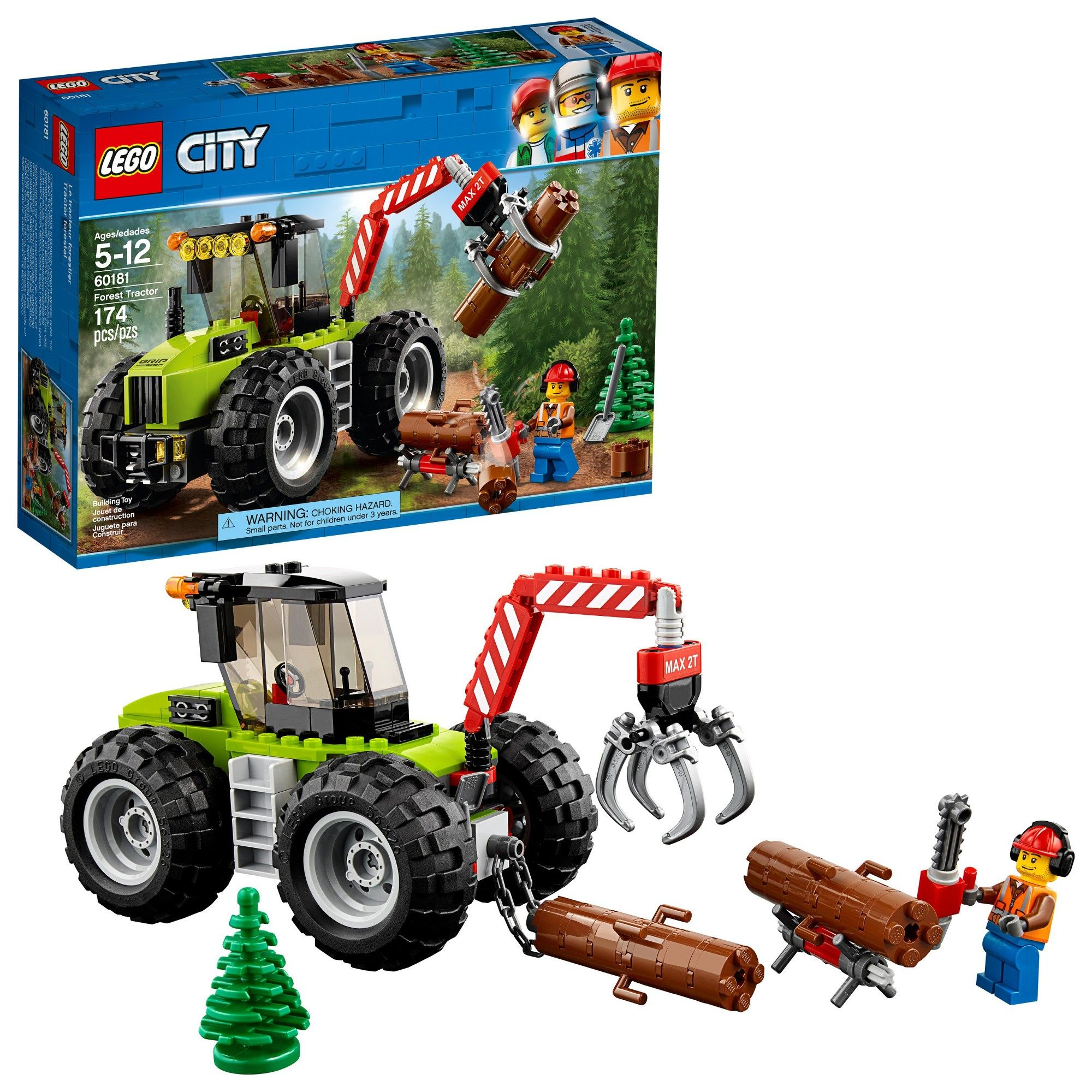 Toys images for boys  Lego City Great Vehicles Forest Tractor   Products  Pinterest