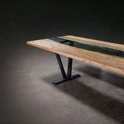 Colorado Live Edge Dining Table Live Edge Dining Table Dining Table Modern Dining Table