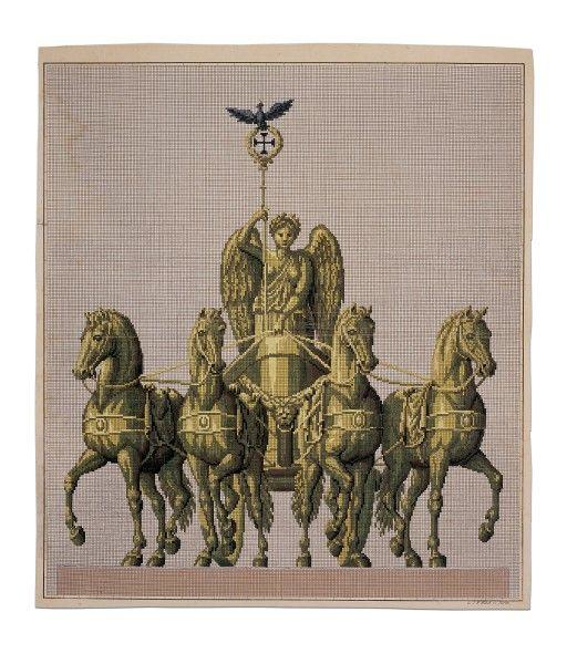 A Fabulous Berlin Woolwork Pattern Published By Lw Wittich Www Hmb Ch Stickvorlagen Textilkunst Sticken