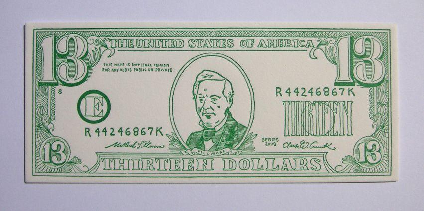 Vine Old 1988 5 Dollar Bill