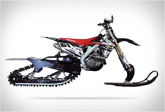 Dirt Bike Snow Kit Bike Snowbike