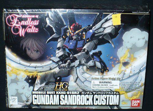Bandai Hobby Ew 07 Gundam Sandrock Custom Endless Waltz 1 144 High Grade Fighting Action Kit Hobbies Toys Games