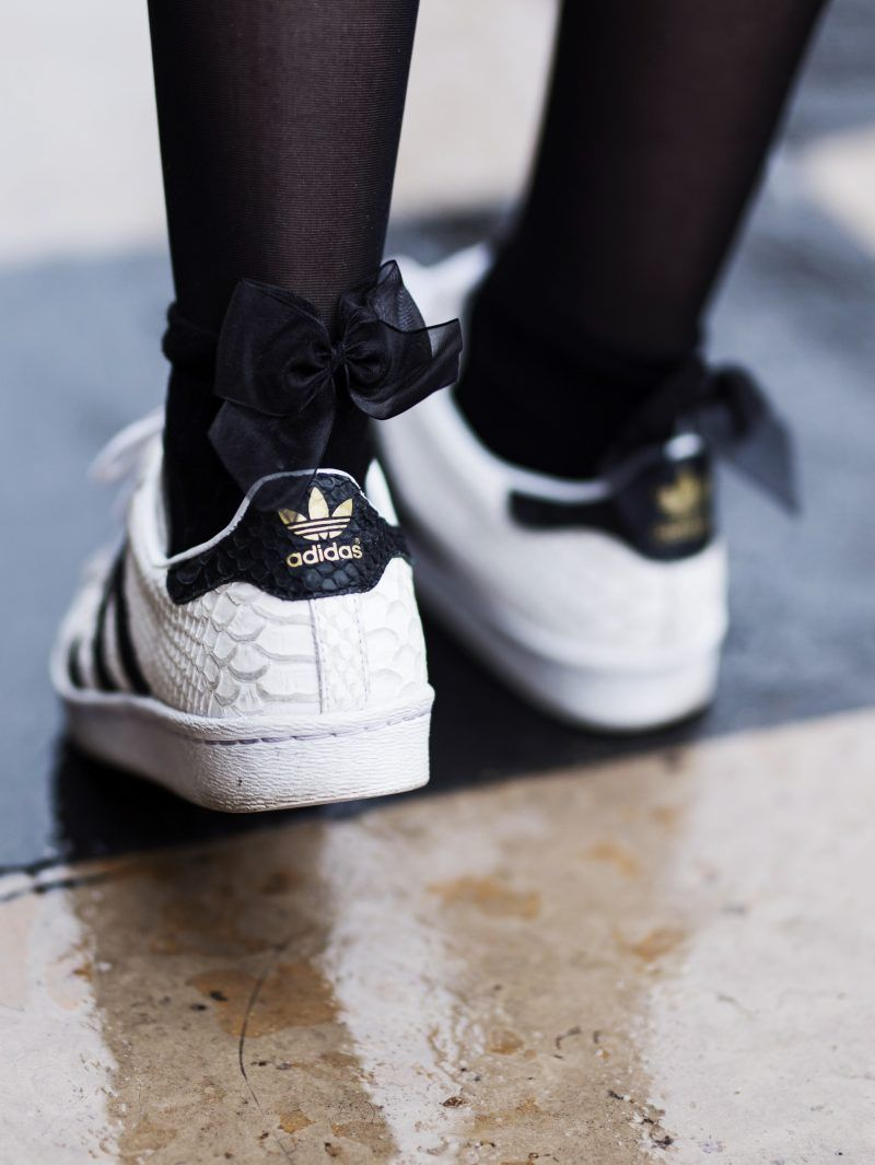 f81cea769e9 Chaussette Basket · Adidas Superstar Femme · Robe Basket