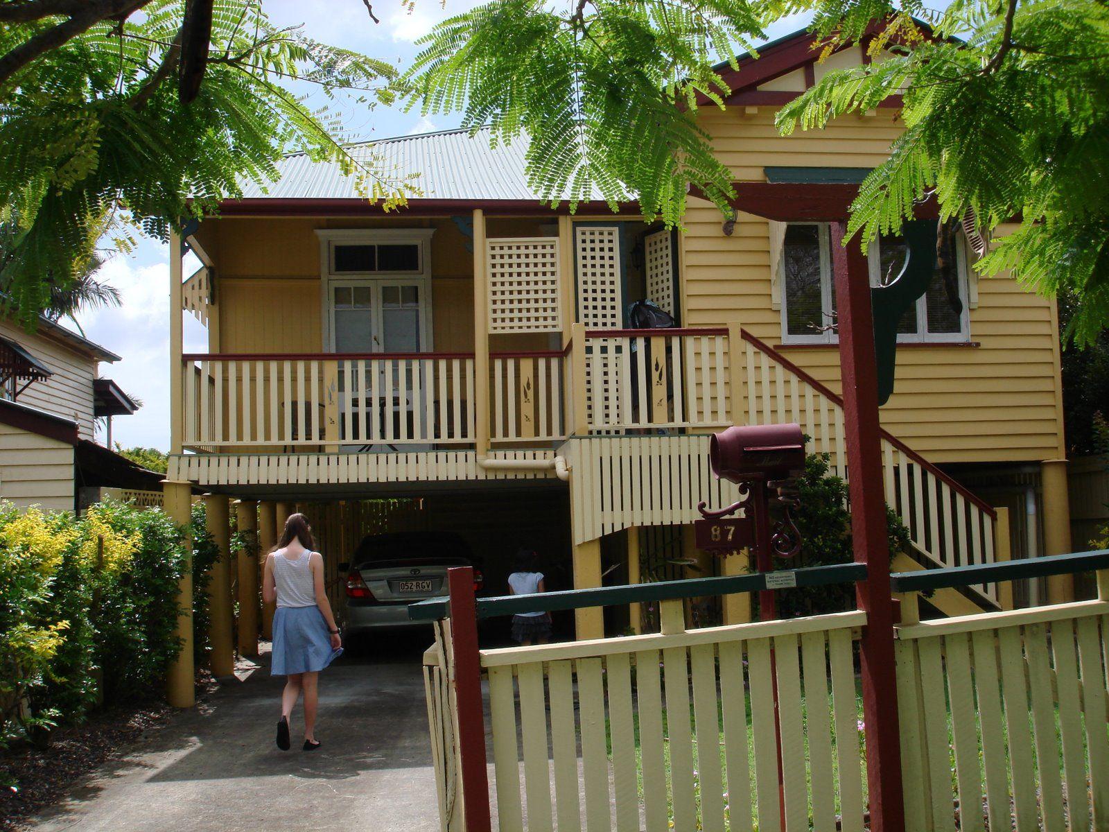 traditional Queenslander cottage