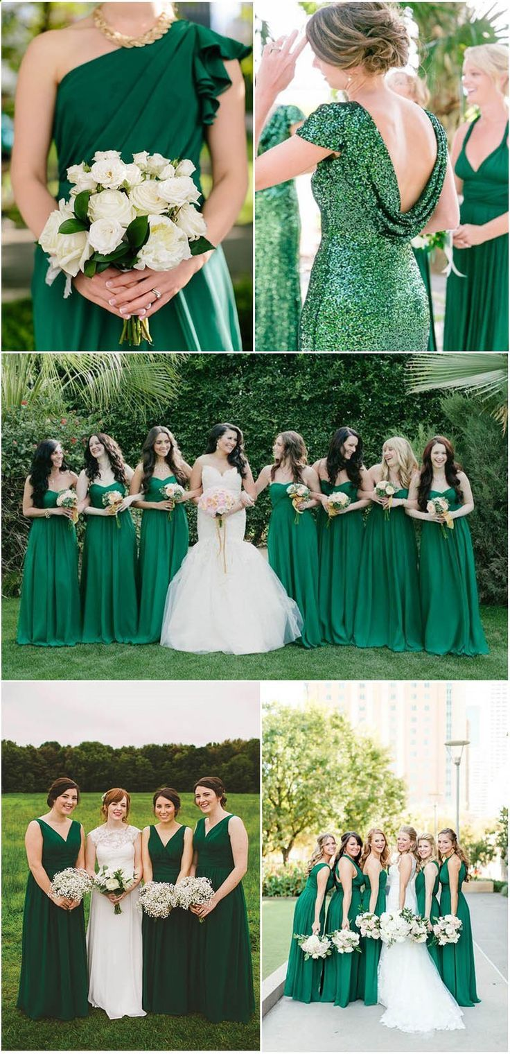 Breathtaking Green and White Wedding Ideas to Rock   Emerald ...