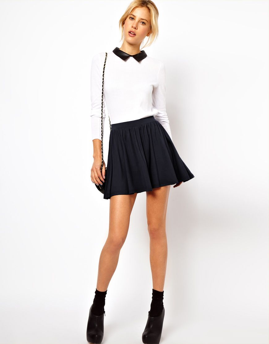 Style In Skater Skirt Asos At Fall Fashion Fzqtnn 20806775eed