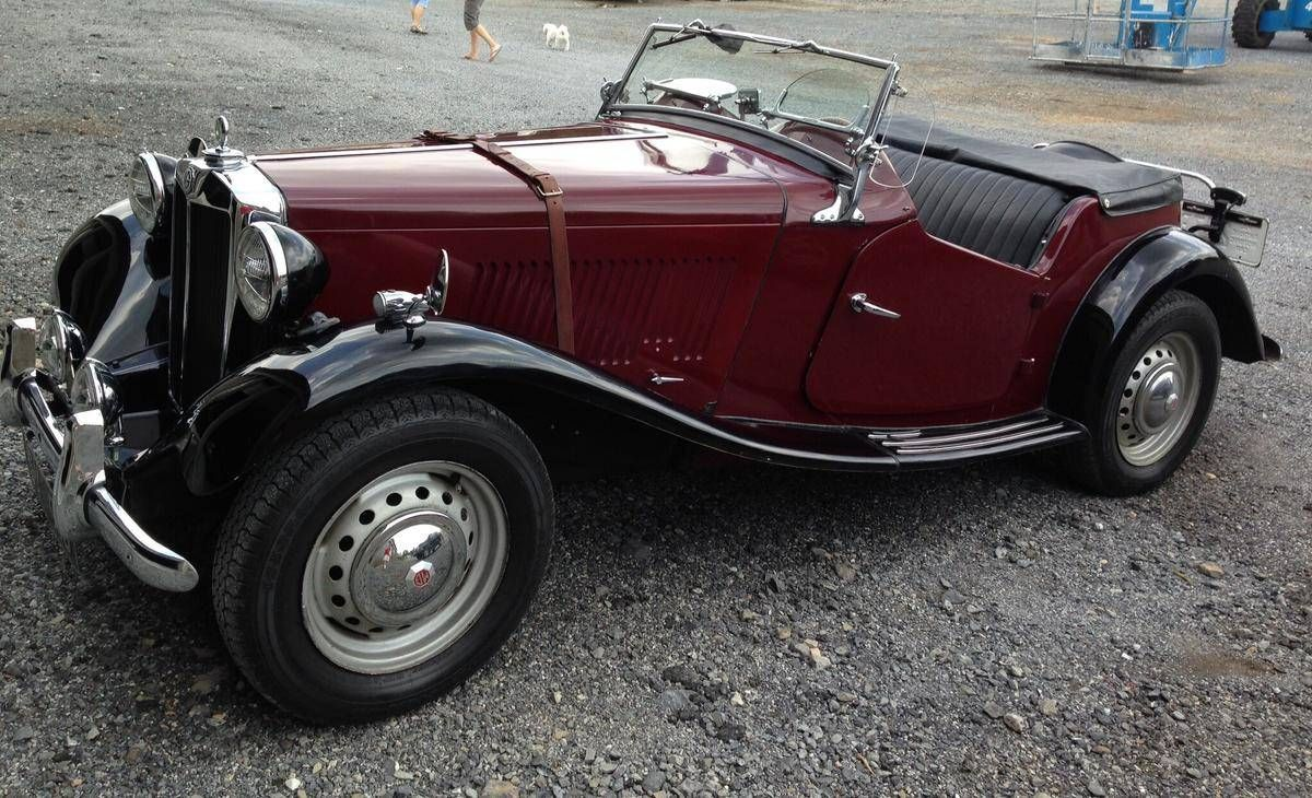 1952 MG TD Maintenance of old vehicles: the material for new cogs ...