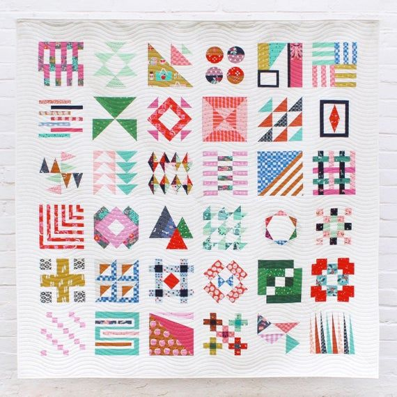 Pdf Modern Makers Club Block Of The Month Pattern Quilt Patterns
