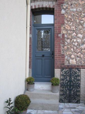 The Change Of The Entrance Door Porte D Entree8 Beaugency De Chez Lapeyre Entree Maison Porte Entree Maison Facade Maison