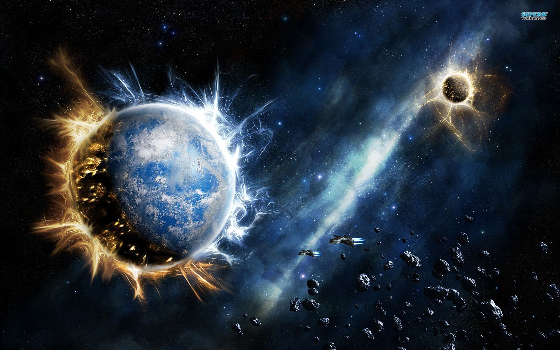Supernova Wallpapers Space Fantasy Planets Wallpaper Space Art