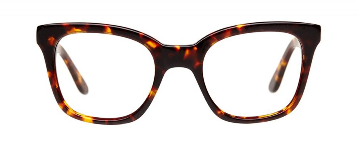 6444aac5d7 Affordable Fashion Glasses Rectangle Square Eyeglasses Women Jack   Norma  Chai Front