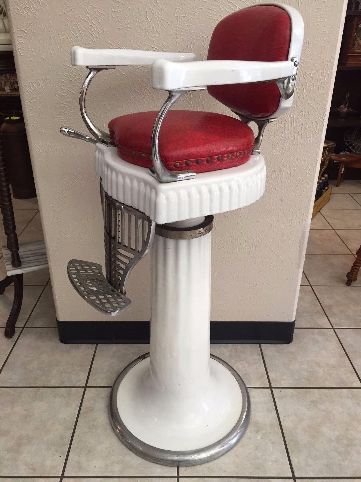 koken barber chair headrest flex one folding ebay antique chairs furniture