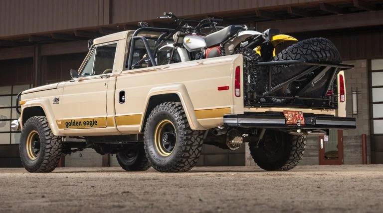 A Restored Jeep J10 Golden Eagle 6 6l V8 Pickup The Best Dirt