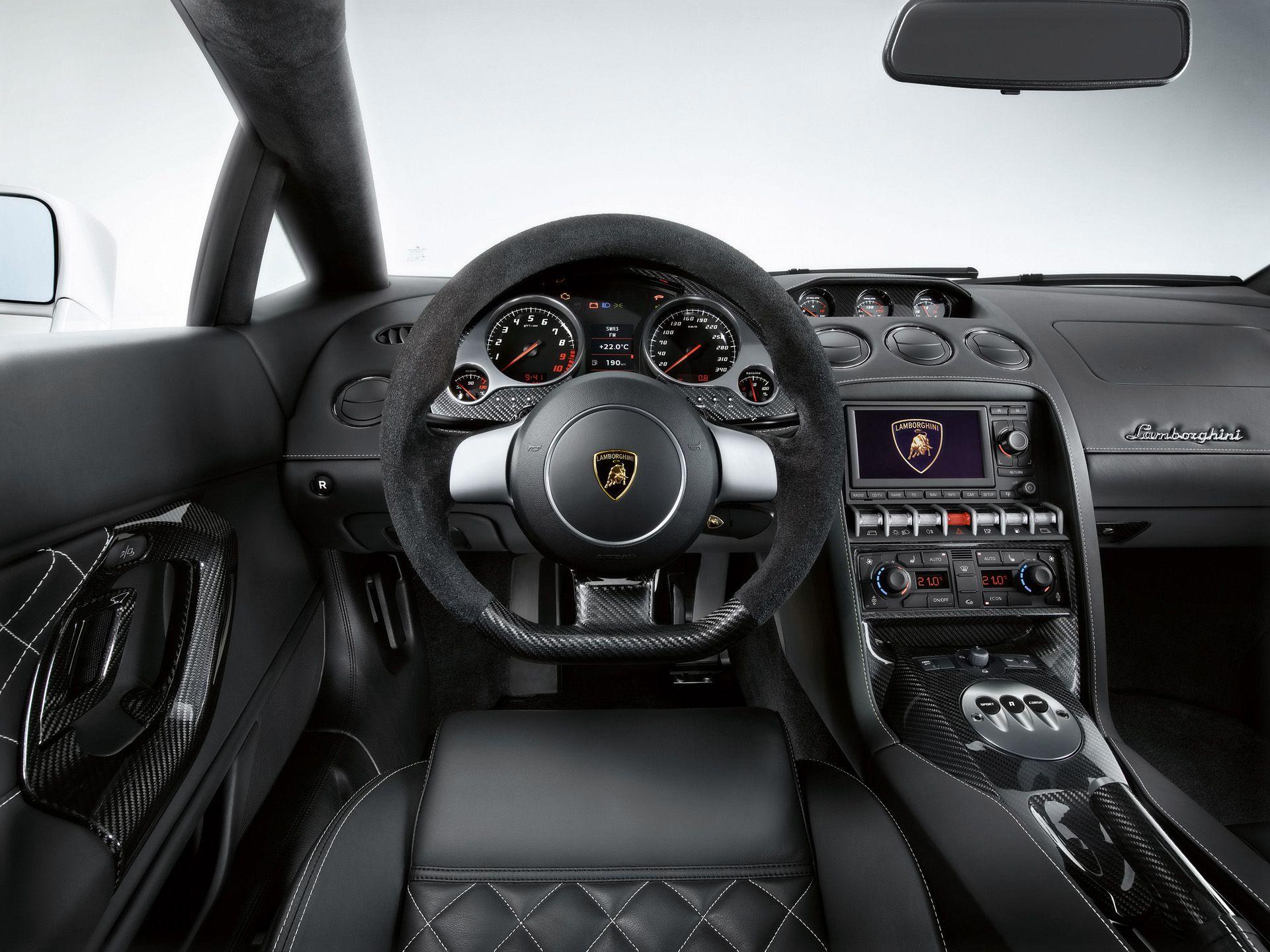 Lamborghini Gallardo Dashboard Cars Lamborghini Gallardo