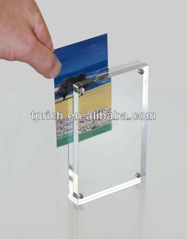 Magnetic Acrylic photo frame $2.5~$4.5 | Herradura Vis items ...