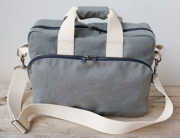 Canvas Shoulder Bag, front