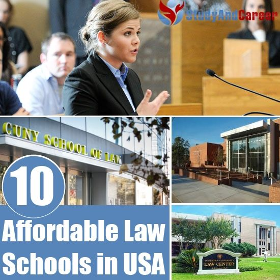 10 Best Affordable Law Schools in USA