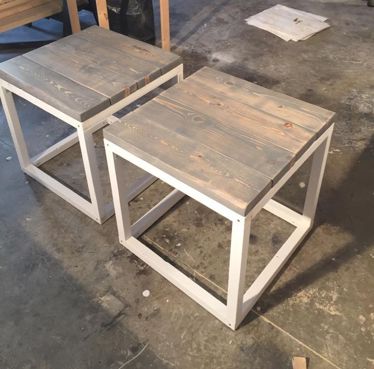 Inspirational Shabby Chic End Table