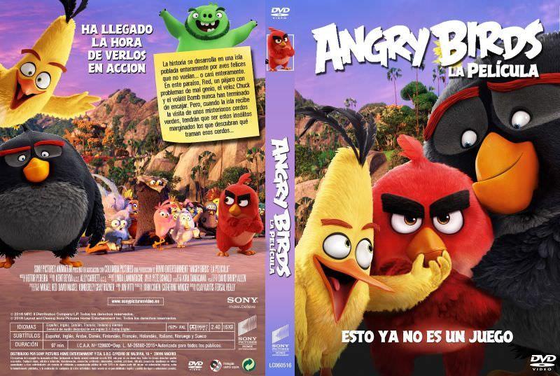 The Angry Birds Movie (2016) (DVDR4 NTSC) Latino | Ingles - http://CineFire.Tk