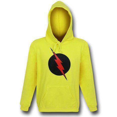 4 sweats à capuche originaux : Flash et Reverse Flash