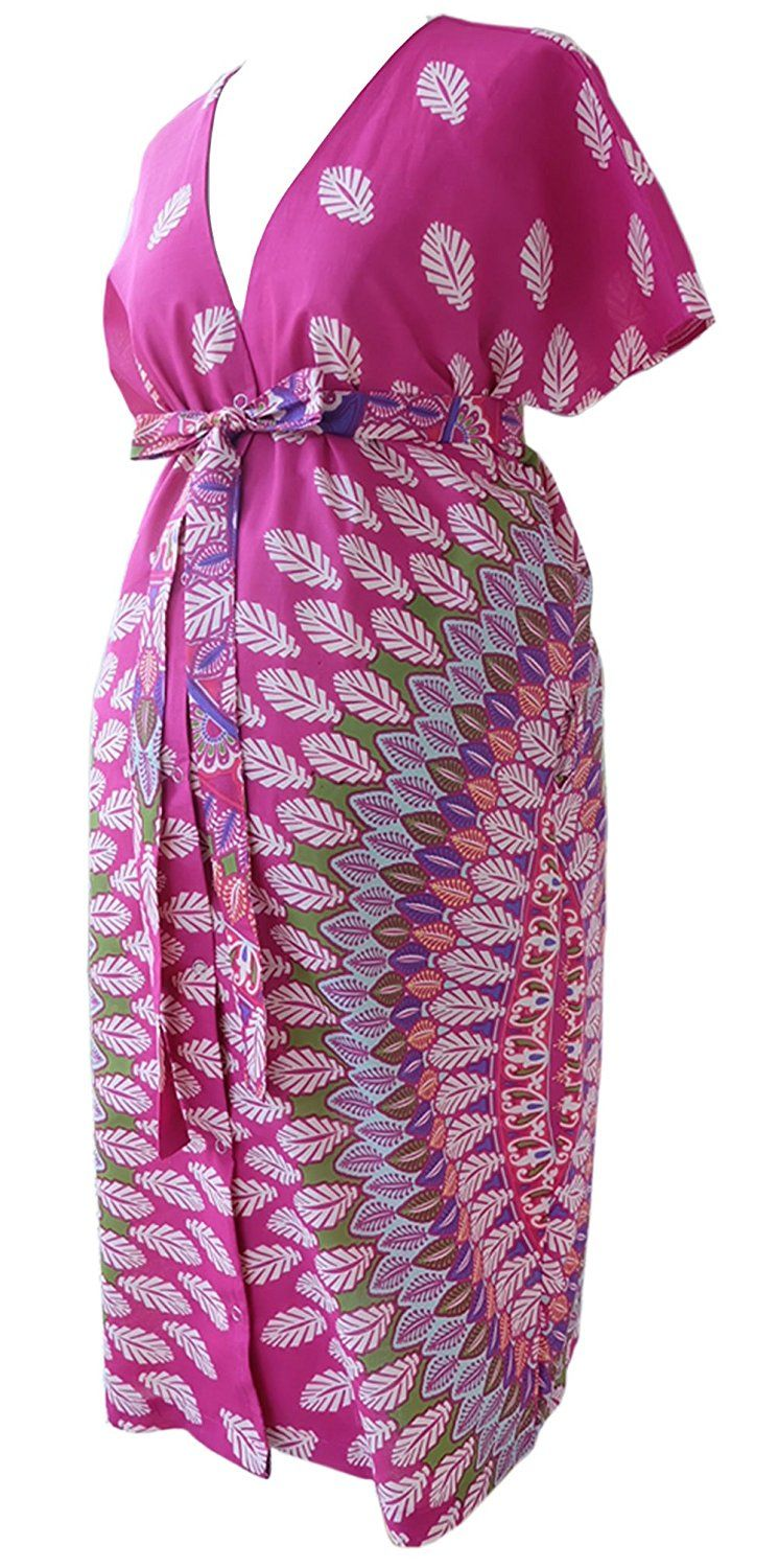 JANA JIRA Maternity Gown for Hospital Labor Delivery Breastfeeding L ...