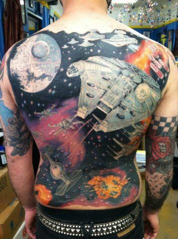 Movie Tattoos Characters And Scenes Tattoo Designs Geek Tattoo Star Wars Tattoo Star Wars Awesome