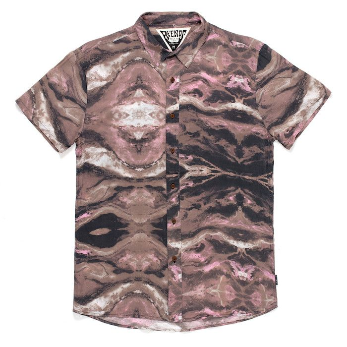 BOLD AS LOVE - SHORT SLEEVE SHIRT from AFENDS