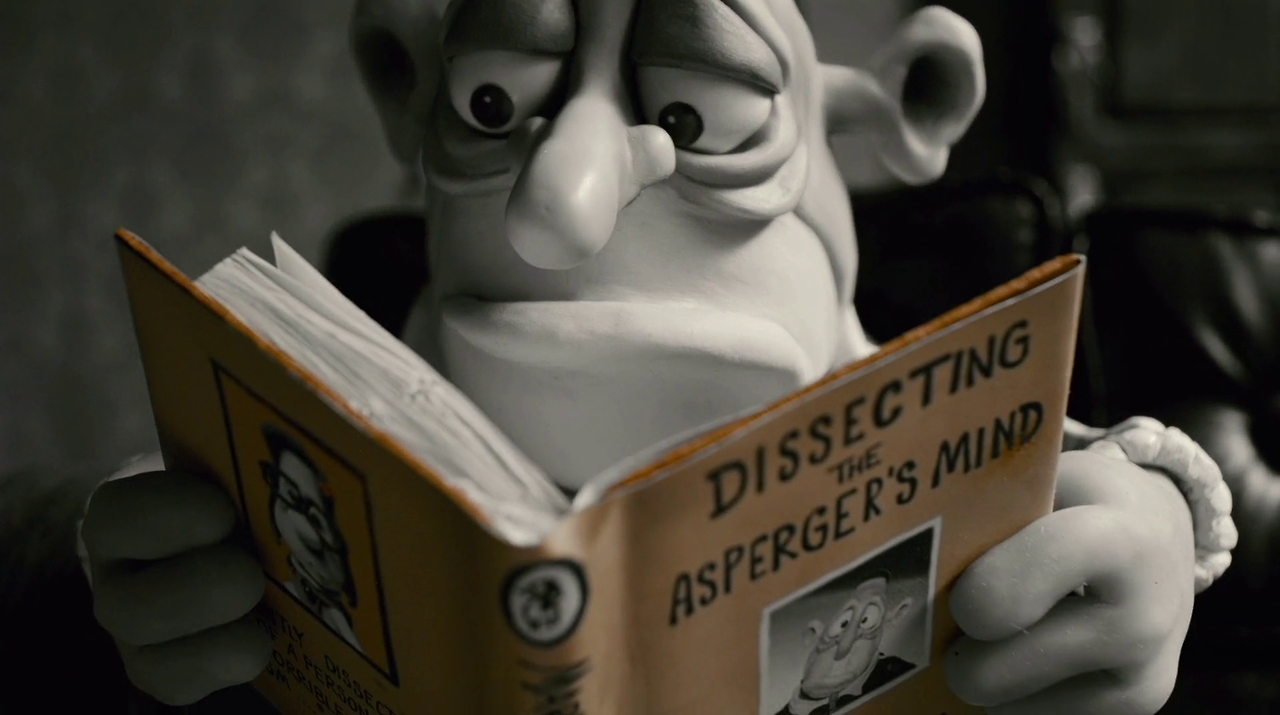 Booksinmovies Mary And Max Max Reading Dissecting The Asperger S Mind By Mary Daisy Dinkle Mary And Max Mindfulness Aspergers